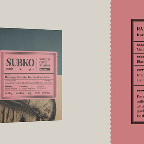 Ratnagiri Estate (Lot #42) by Subko Specialty Coffee Roasters