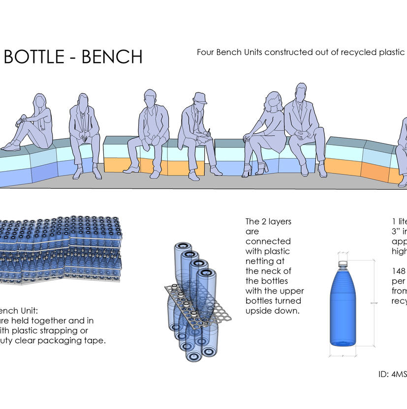 The BOTTLE - Bench , design competition