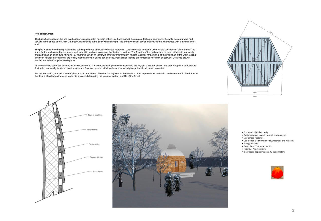 Page 2 The Pod, desogn competition