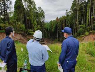 ◎鹿本管内林務関係の視察
