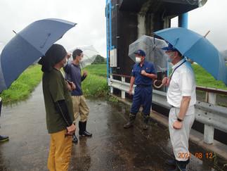 ◎鹿本町小柳地区湛水防除事業排水施設要望