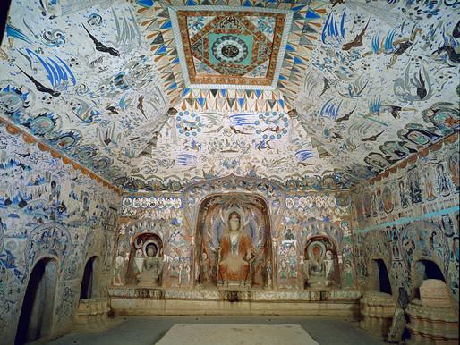 Grottes de Mogao (敦煌莫高窟 dūn huáng mò gāo kū)