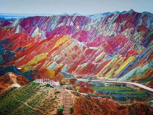 Parc géologique national de Zhangye Danxia (张掖丹霞国家地质公园)