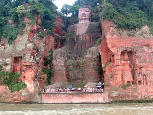 Grand Bouddha de Leshan (乐山大佛 lè shān dà fó)