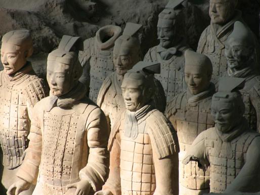 L' Armée de terre cuite (西安兵马俑 xī ān bīng mǎ yǒng)