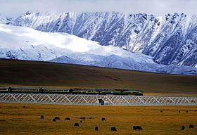 Ligne ferroviaire Qing-Zang (青藏铁路 qīng cáng tiě lù)