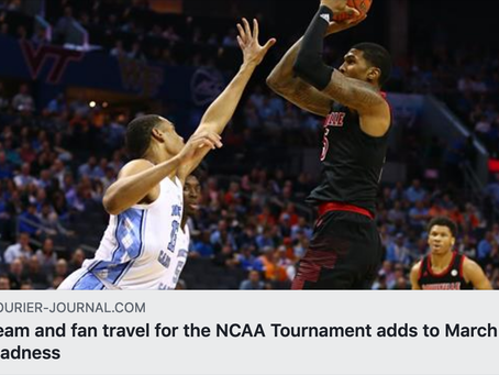 Team and fan travel for the NCAA Tournament adds to March Madness