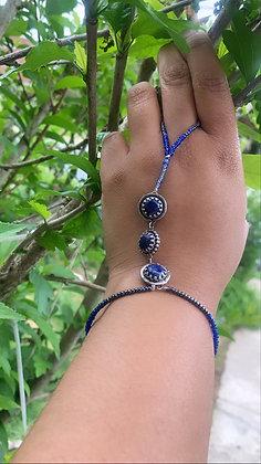 Lapis Lazuli Gypsy Bracelet