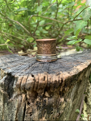 Copper Wheelbarrow Ring