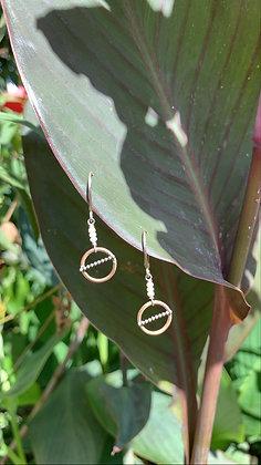 Gold ATG Earrings