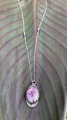 Purple Charoite Regal Necklace