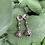 Thumbnail: Chohua Jasper Pond Lily Earrings