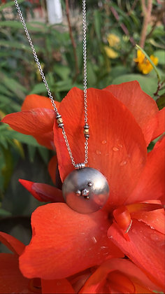 Bubble Half-Sphere Necklace