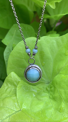 Belinda Amazonite Focal Necklace