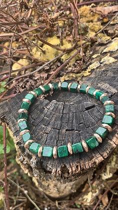 Green Kiwi Jasper Bracelet