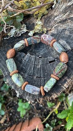 Jasper & Copper Bracelet