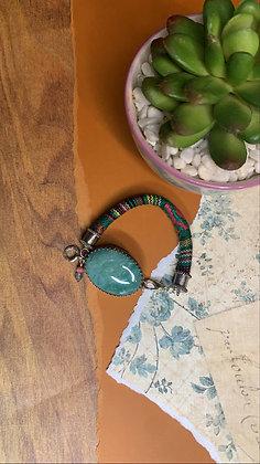 Aventurine Focal Bracelet