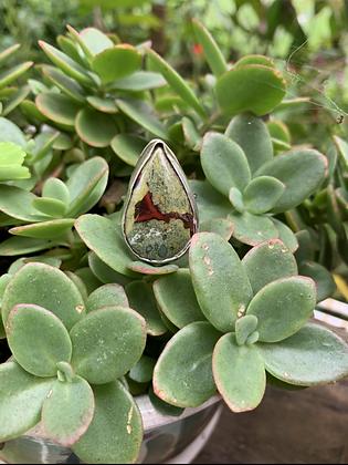 Dragonblood Jasper Ring