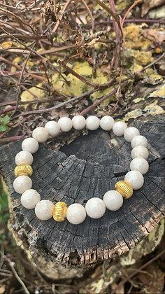 Fossil Jade Bracelet