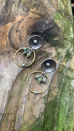 Pond Lily Earrings