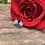 Thumbnail: Turquoise Bubble Post Earrings
