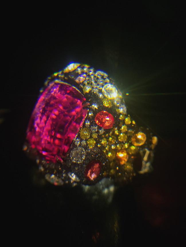 """""""Au Coucher Du Soleil"""" Ring"""