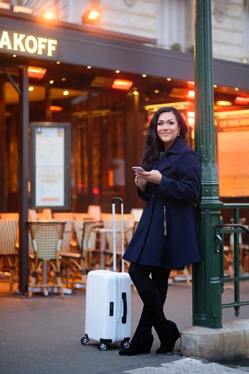 Travel TV Host Sandra Cottam