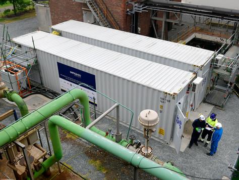 Wat zijn de resultaten van de waterzuiveringstesten bij BASF?