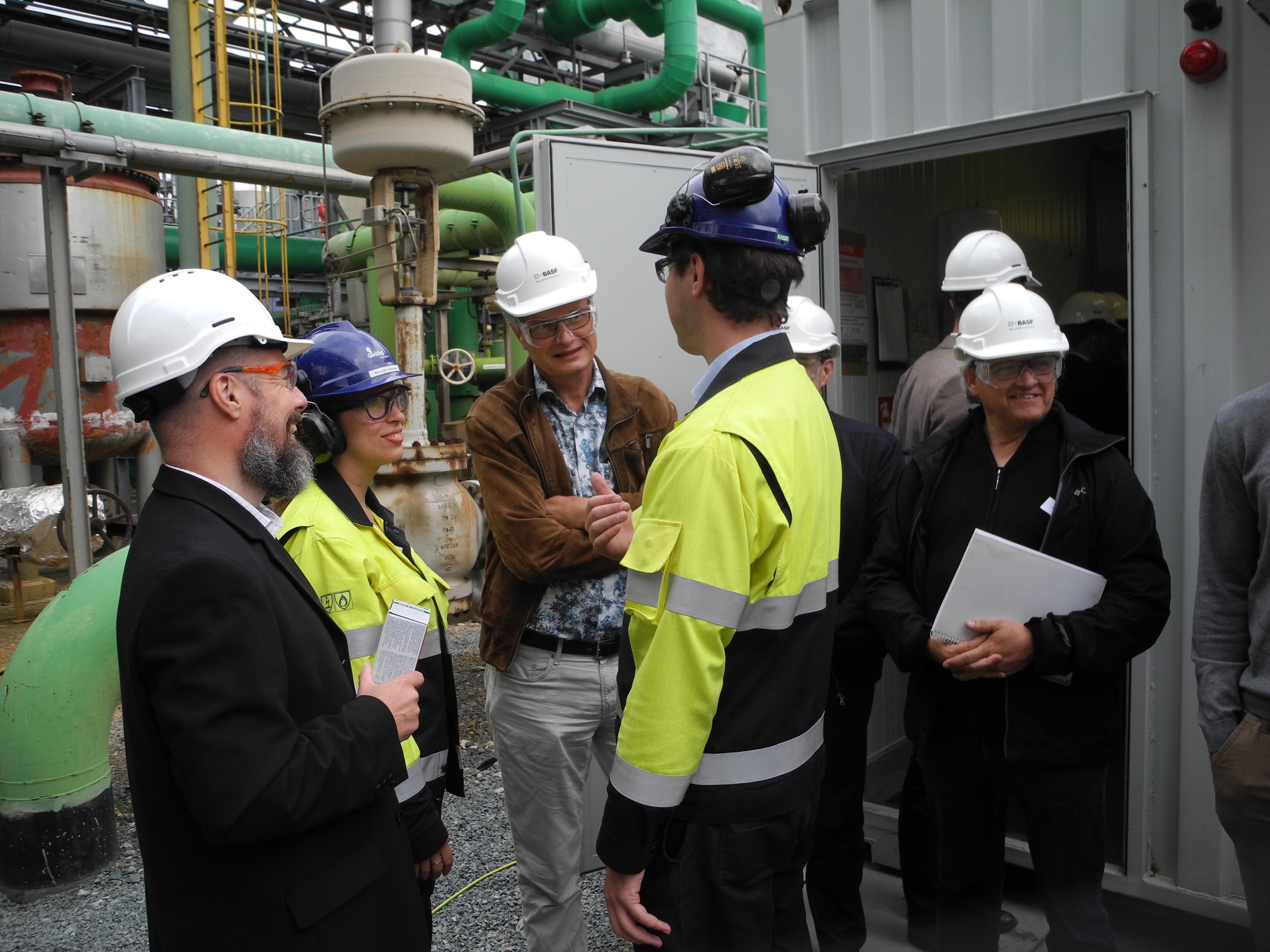 Bezoek containers bij BASF 3