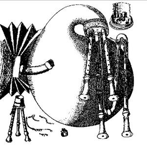 Mersenne's sordellina in Harmonie Universelle, 1636.