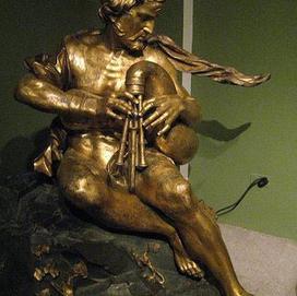 Poliphemus playing the Sordellina