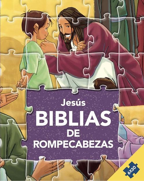 Biblia de Rompecabezas: Jesús