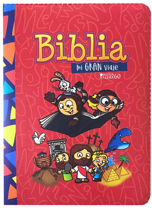 Biblia Mi Gran Viaje Roja