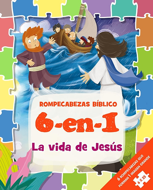 Rompecabezas Bíblicas 6 en 1 El arca de Noé