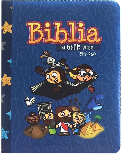 Biblia Mi Gran Viaje Azul