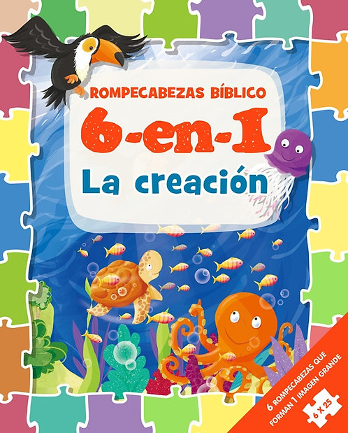 Rompecabezas Bíblicas 6 en 1 La Creación