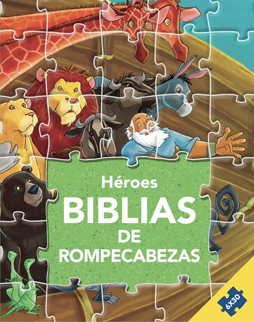 Biblia de Rompecabezas: Héroes