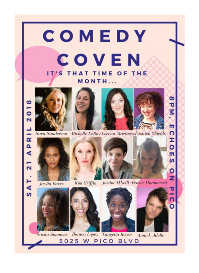 Comedy Coven, YAY!!