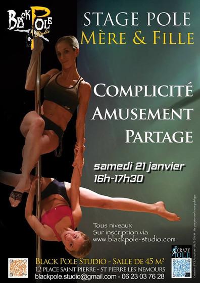 Stage Pole Dance - Mère et Fille