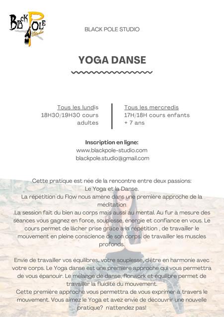 Yoga Danse