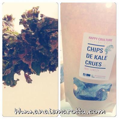 Chips de Kale- NUTRITION