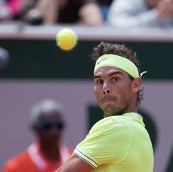 Rafael Nadal from Spain