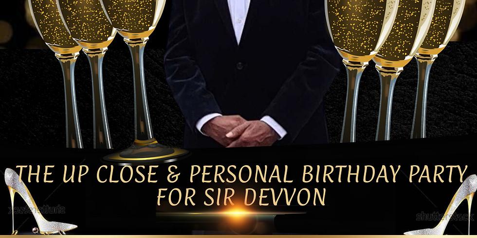 SIR DEVVON BIRTHDAY BASH