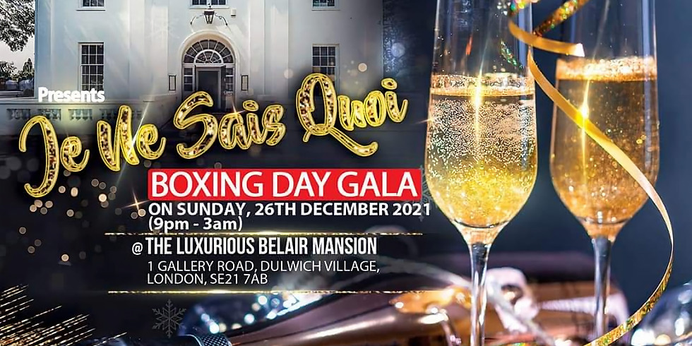 Mono Ents & BCP Promotions Presents.....Boxing Day Gala