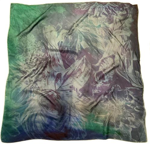 SAMPLE 30 - 100% Silk Twill Scarf - 90cm x 90cm