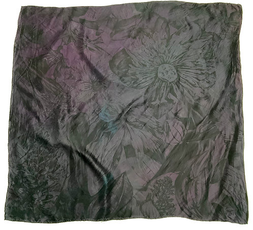 SAMPLE 29 - 100% Silk Twill Scarf - 90cm x 90cm