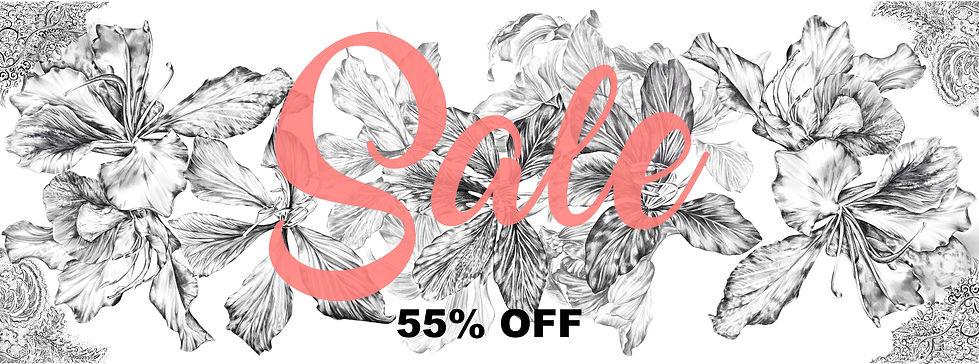 sale 55% off