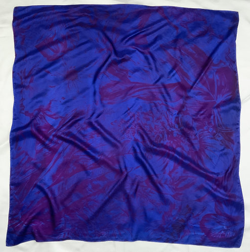 SAMPLE 13 - 100% Silk Twill Scarf - 140cm x 140cm