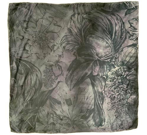 SAMPLE 27 - 100% Silk Twill Scarf - 90cm x 90cm