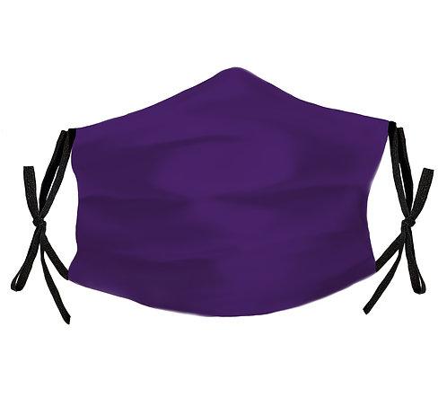 Violet 100% Silk Face Mask